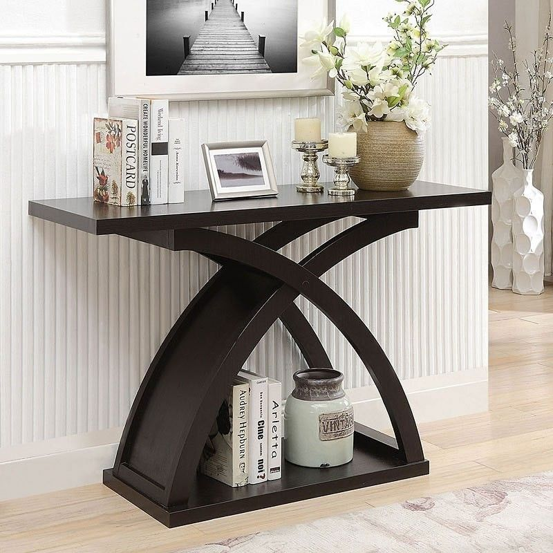 1stopbedrooms Com Wood Sofa Table Furniture Of America Wood Console