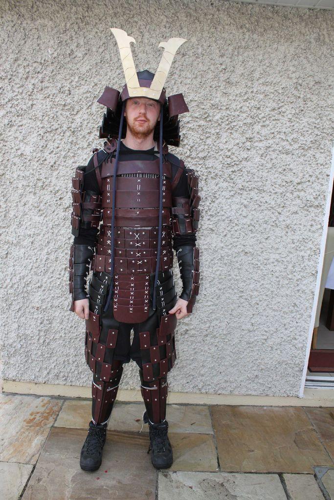 Samurai Armour Easy Halloween Costumes Pinterest Samurai Armor