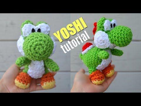 Yarn Yoshi Amigurumi Pattern #amigurumitutorial