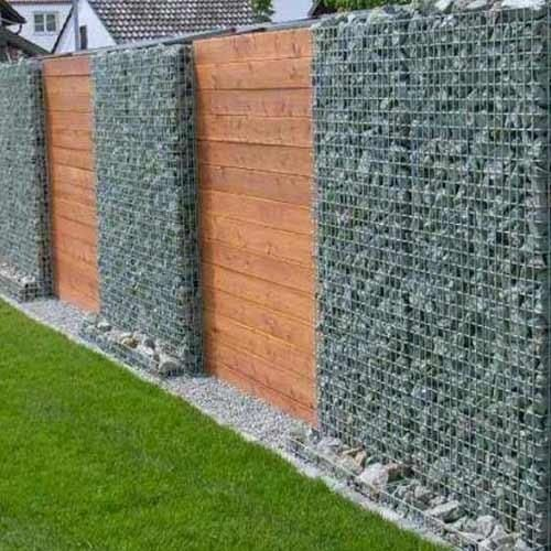Image result for modern compound wall designs in india for Wall fence ideas