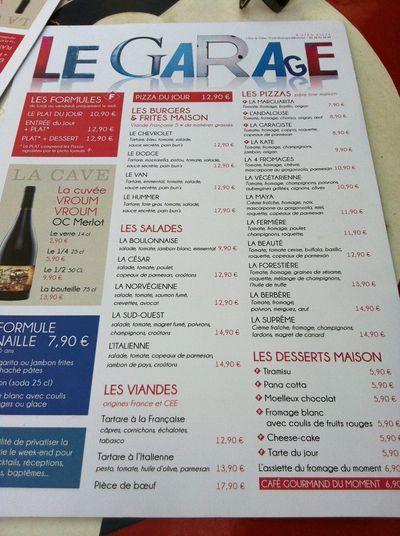 Carte garage boulogne billancourt menu pinterest for Garage boulogne billancourt