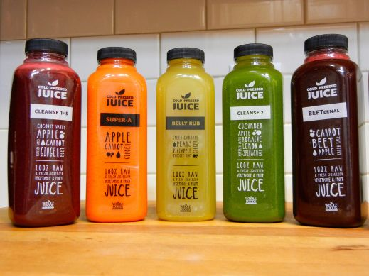 Before buying a cold pressed juice from Whole Foods, read the label - fresh blueprint cleanse questions