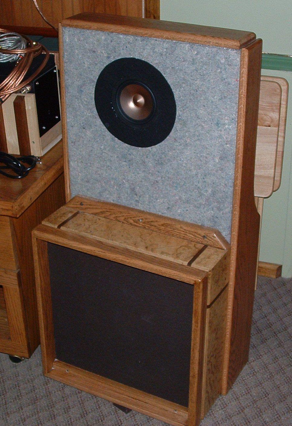 Alpair 10 Quarter Wavelength Loudspeaker Design Gallery