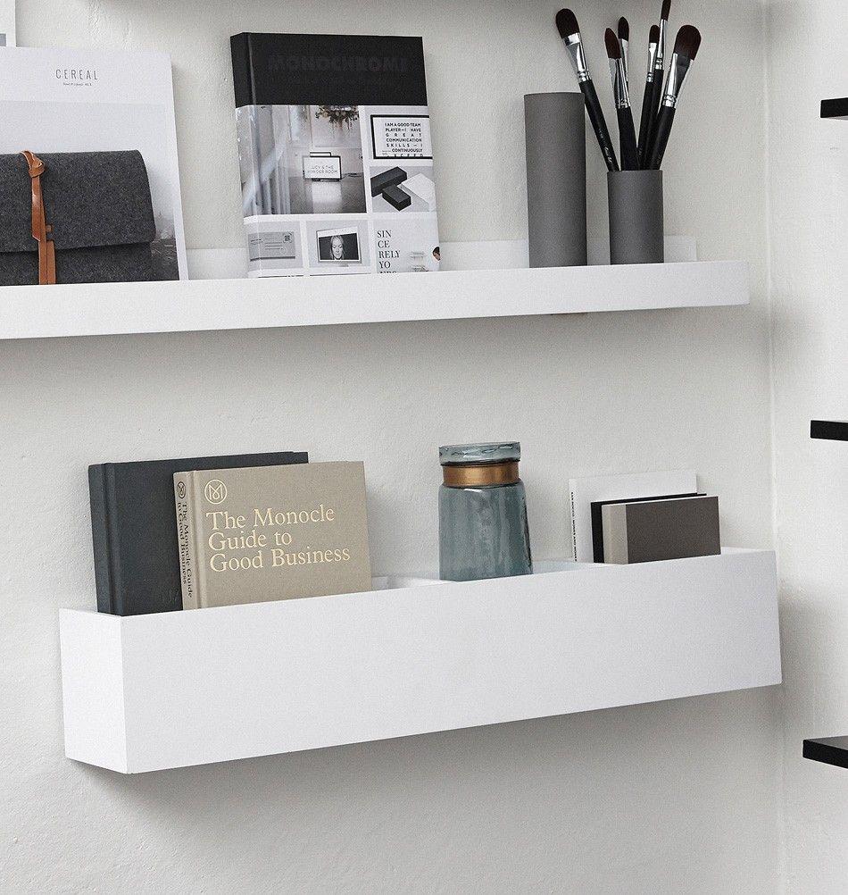 Weisse Wandbox Pures Design Fur Die Wand Hubsch Interior Wand Regal