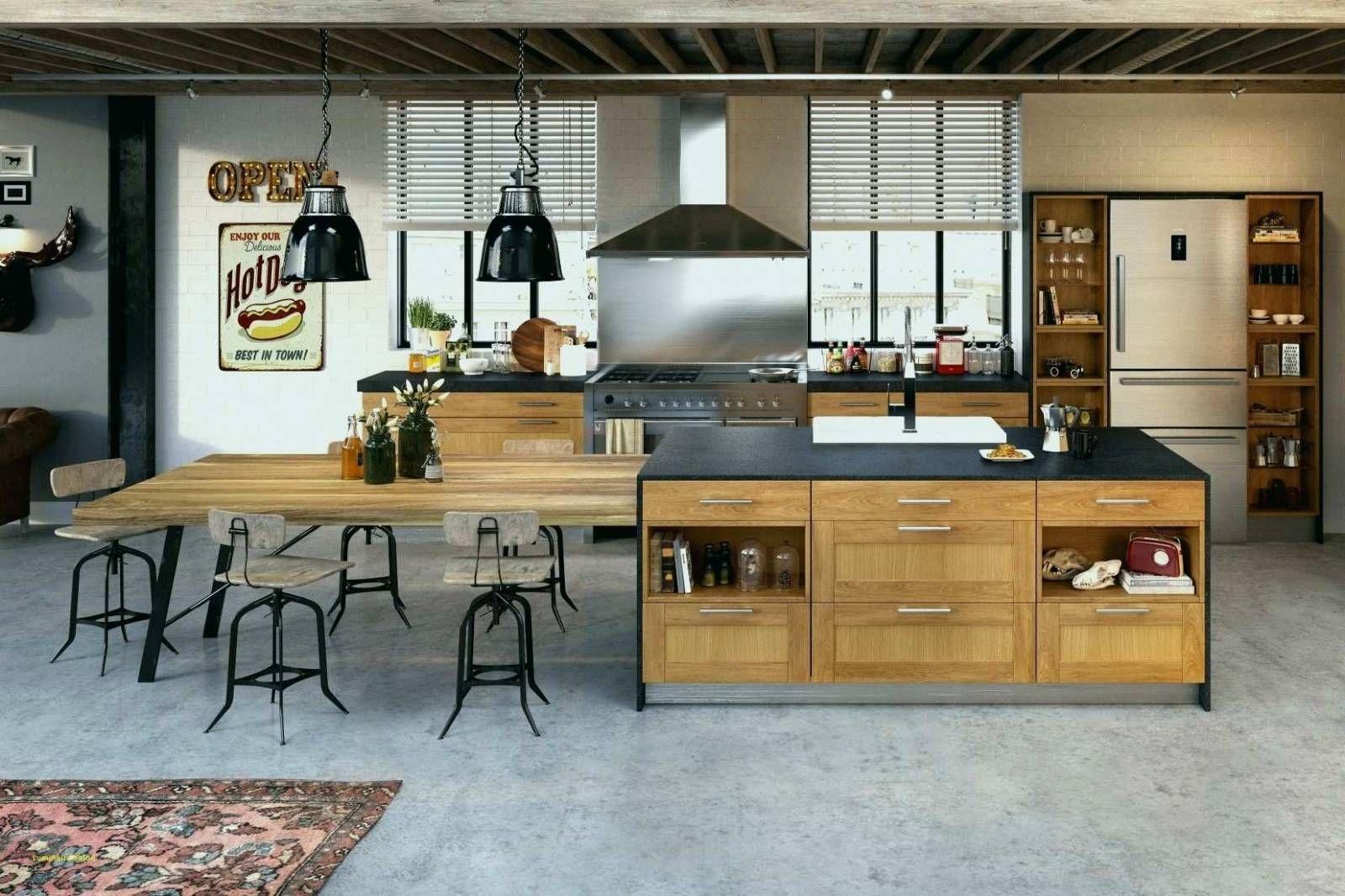 Chambre Style Loft Cuisine Bistrot Chic Cuisine Industriel Atelier
