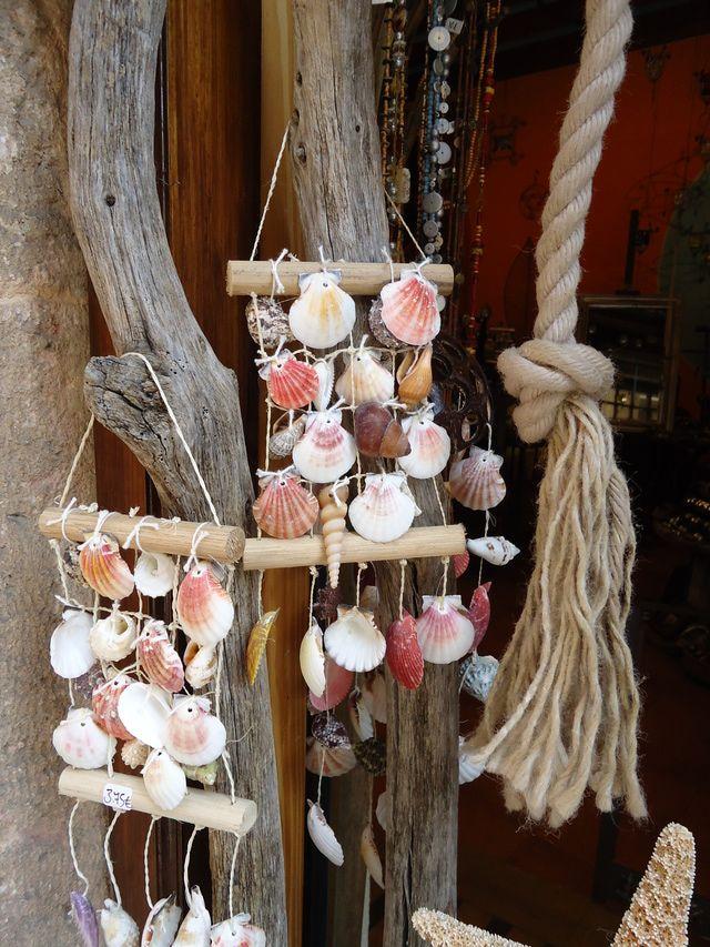 Adornos conchas de mar marine things pinterest - Decoracion con conchas ...