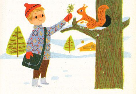 Retro children's Illustration - Alain Gree
