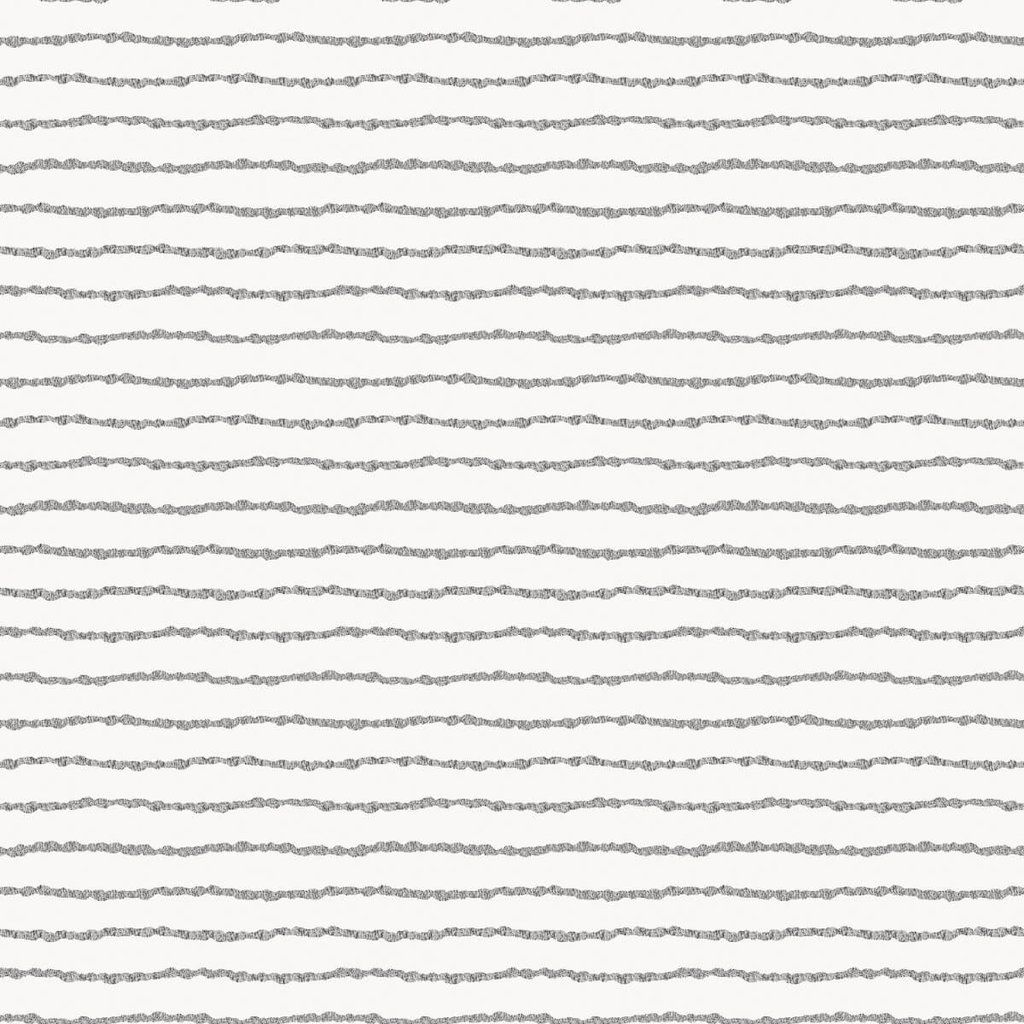 Lines Self Adhesive Wallpaper in Washed on White by Bobby