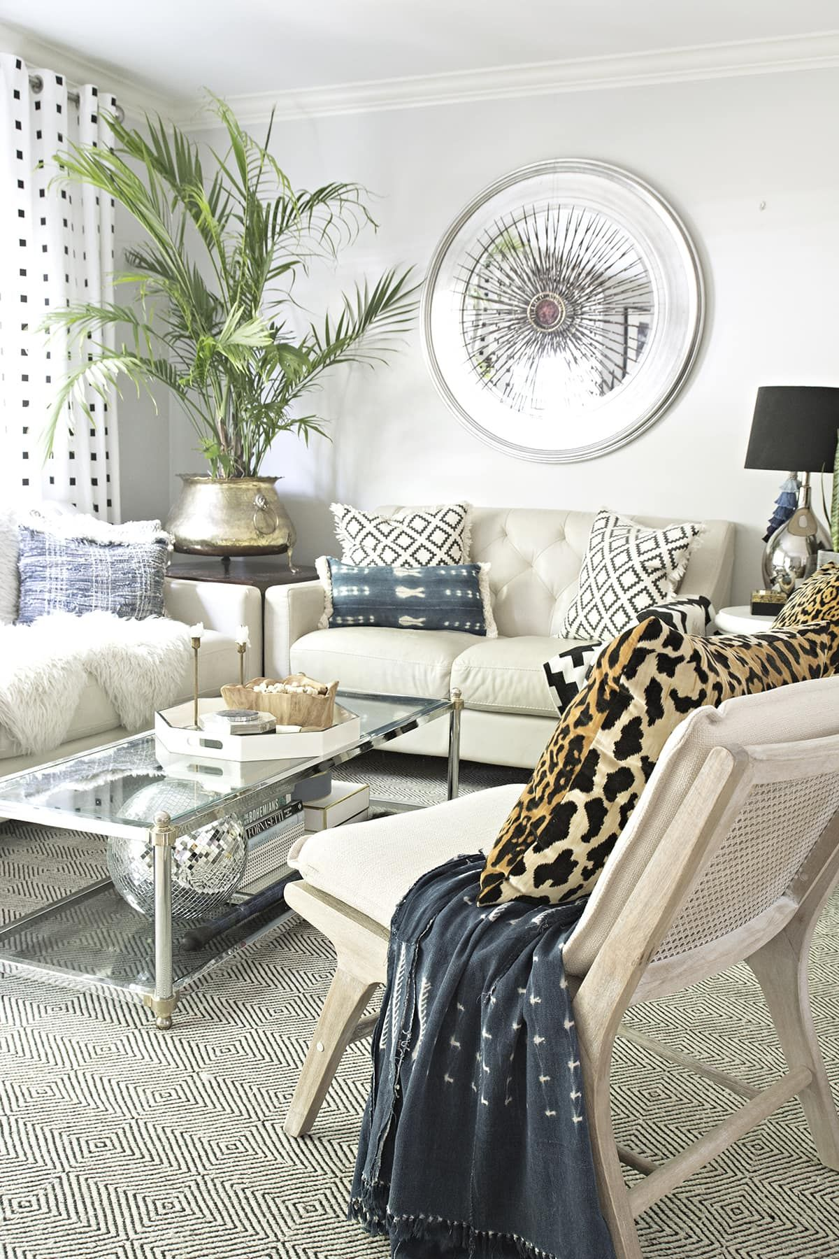 27+ Fancy Boho Neutral Bedroom | Eclectic living room ...