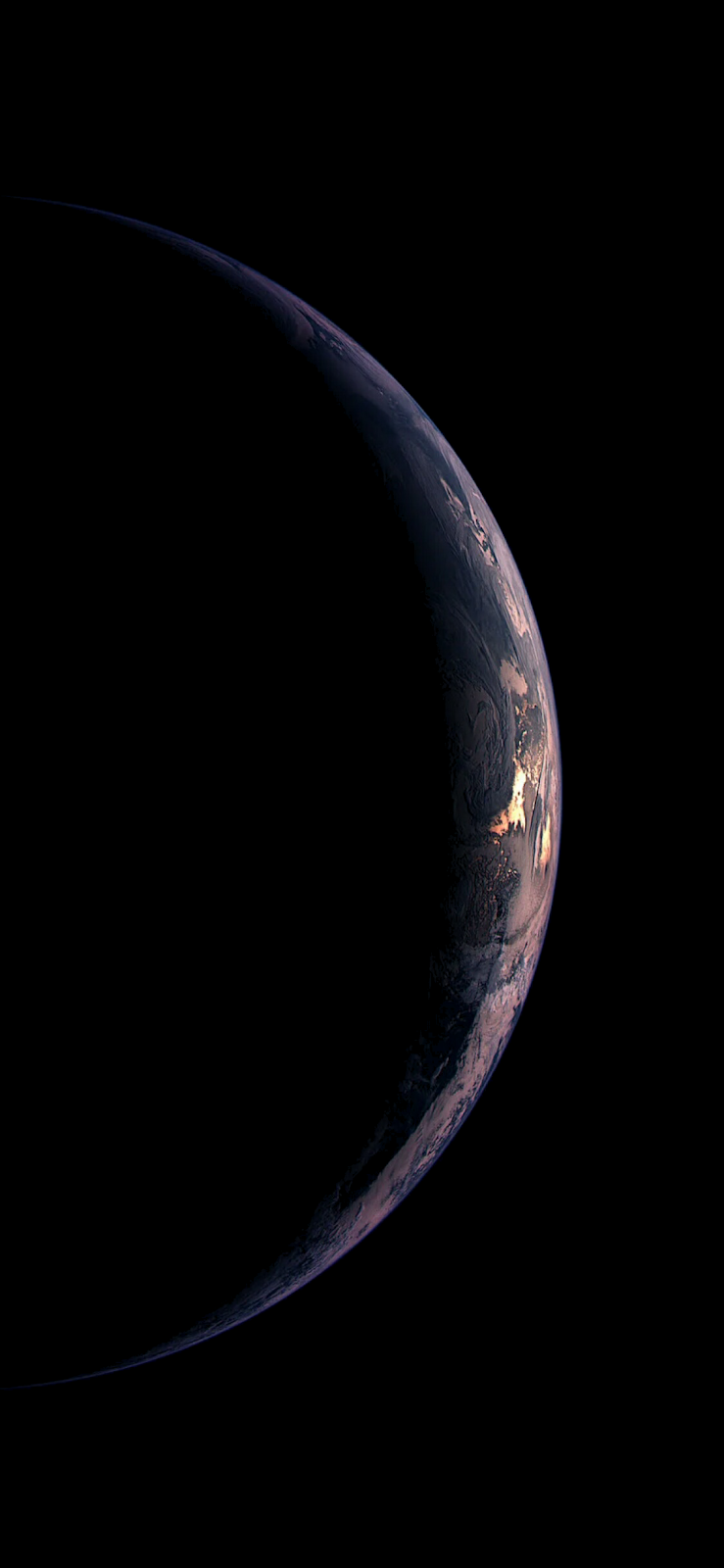 Earth for iPhone X/XS ( for Amoled display) #blackwallpaperiphone