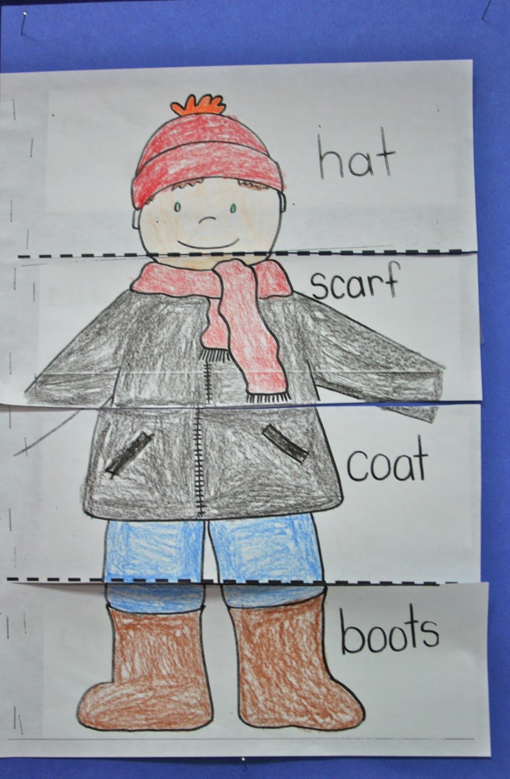 Last Week We Read The Story The Jacket I Wear In The Snow