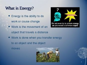 7 Basic Forms Of Energy PowerPoint 6th Grade Science Fun Physical