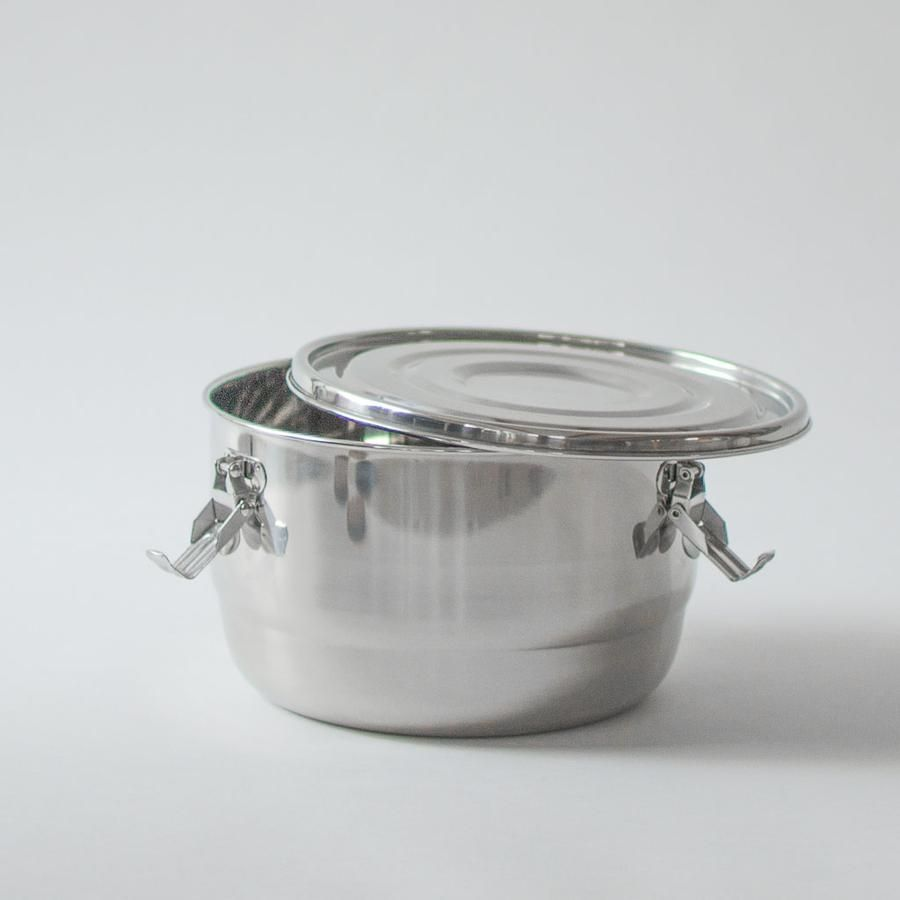 Large Stainless Steel Container In 2020 With Images Stainless Steel Containers Stainless Steel Stainless