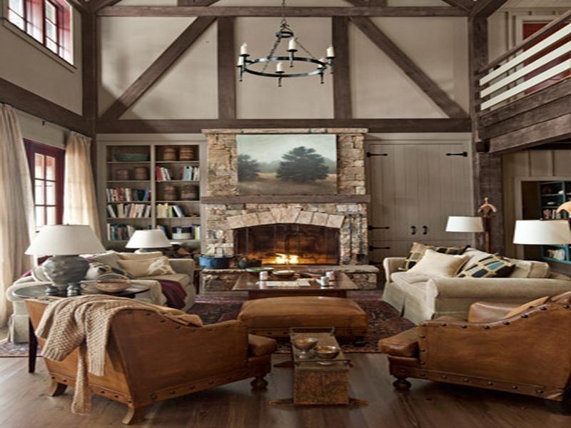 Természet és otthonosság: rusztikus stíusú nappalik, képekben ...