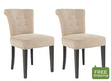 Sinclaire Dining Chairs: Set of 2