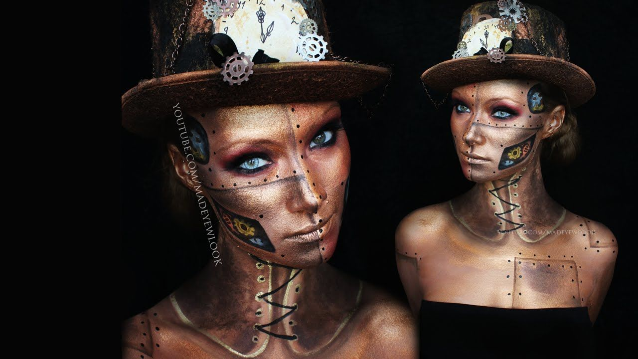 Here is a steam punk makeup tutorial for halloween d already here is a steam punk makeup tutorial for halloween d already getting excited baditri Image collections