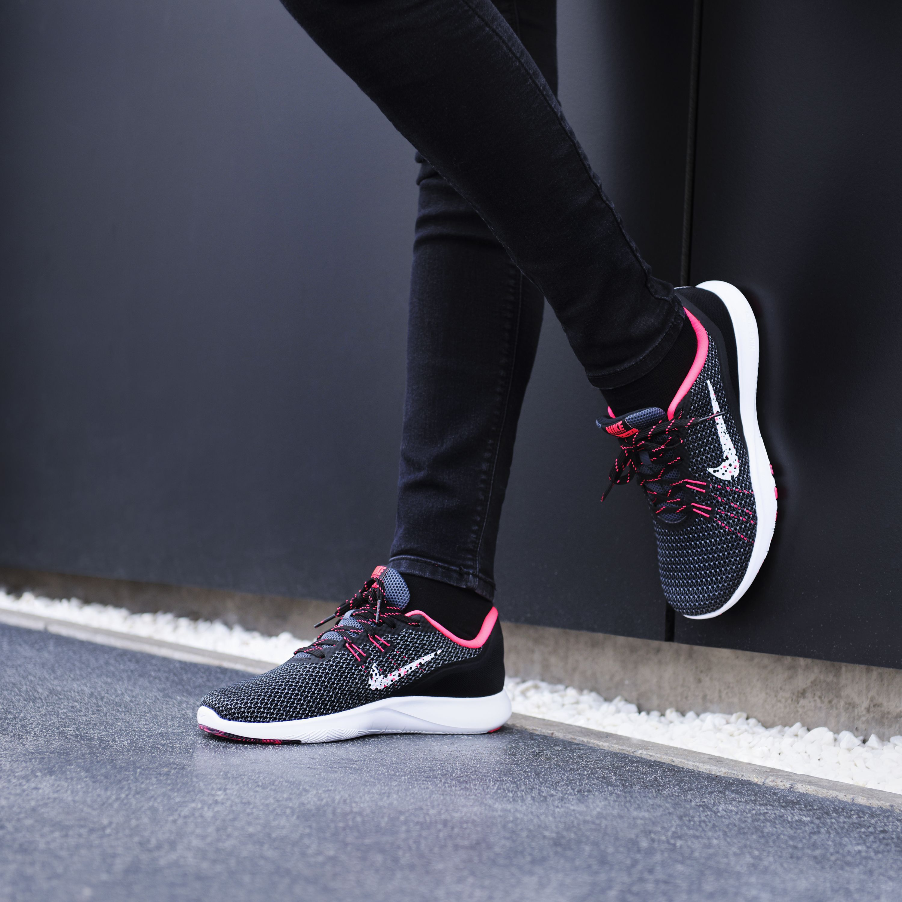 Flex in ultimate comfort with the Nike Flex trainers. With