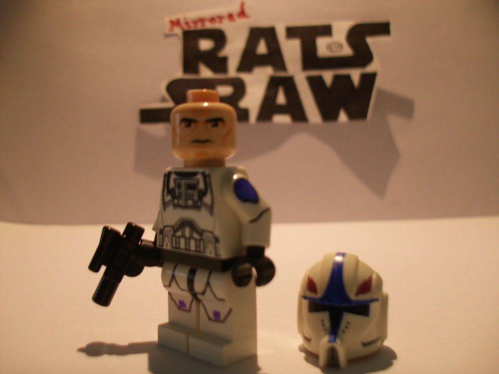 Lego Star Wars minifigures - Clone Custom Pilot Hawk   Star wars ...