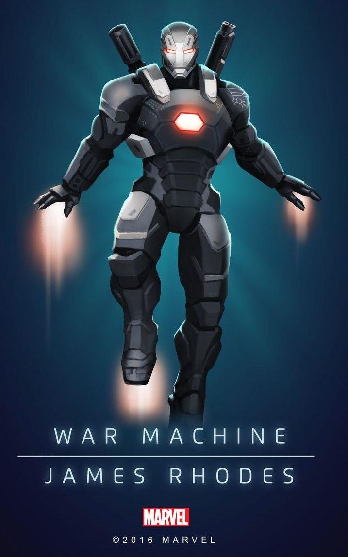 Máquina de Guerra (James Rhodes)                                                                                                                                                                                 Más