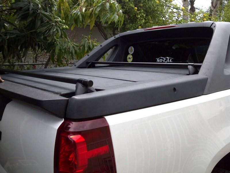 Roof Rack On The Bed Panels Avalanche Truck Roof Rack Chevy