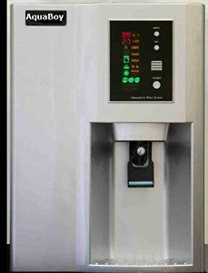 Aquaboy produces 3-5 gallons of fresh pure clean water a day :)