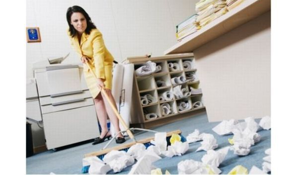 tidy office. 10 Tips For Keeping Your Office Tidy #cleaning Tidy Office