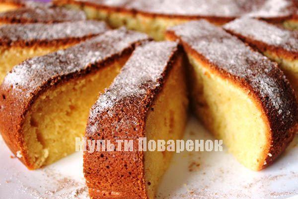 Простой рецепт творожного кекса