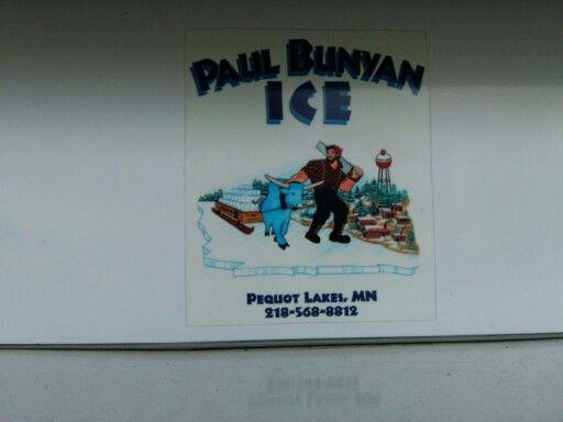 Paul Bunyan ice