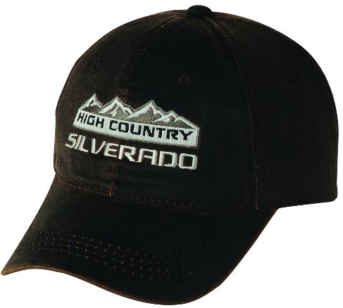 5f55e3a82e9f3 Silverado High Country Weathered Cap | Chevy Truck Caps in 2019 ...