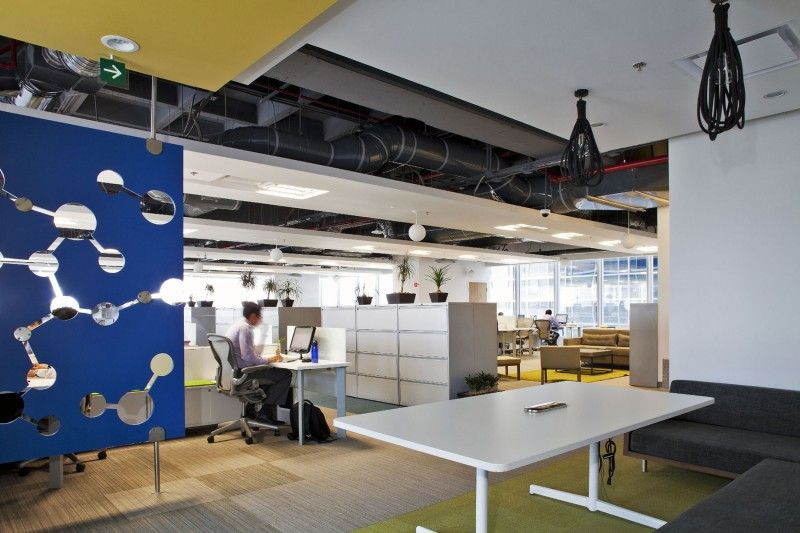 San pablo group corporate offices by space architecture office interior designoffice