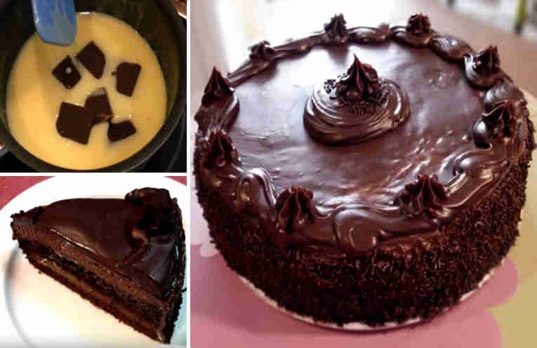 Tarta Muerte Por Chocolate Cómo Hacerla Paso A Paso Cake Food Chocolate
