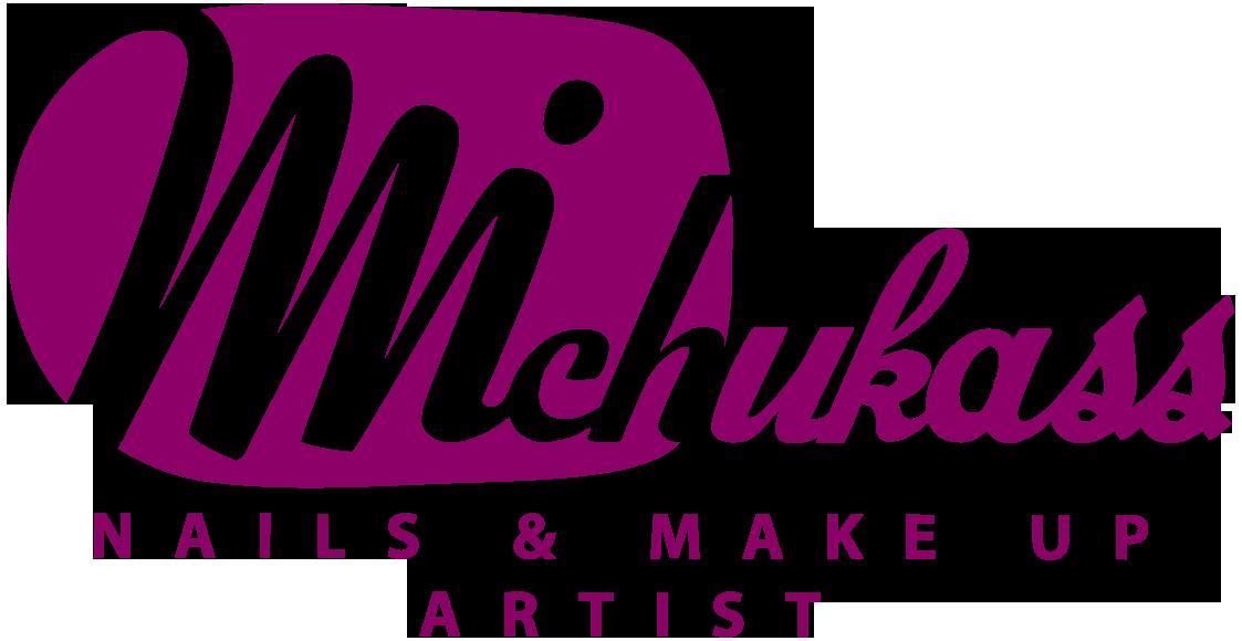 Logotipo Michukass nails & make up artist