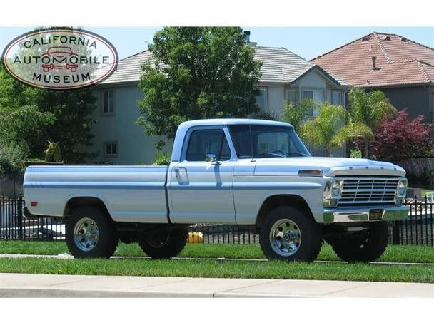 1969 Ford F100 Trucks Classic Trucks Old Ford Trucks