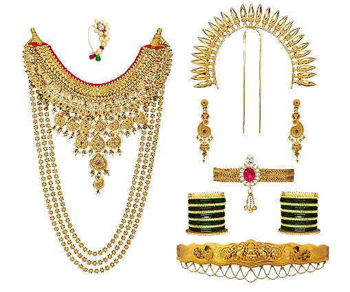 Unique Gold Nose Ring Designs Maharashtrian Style