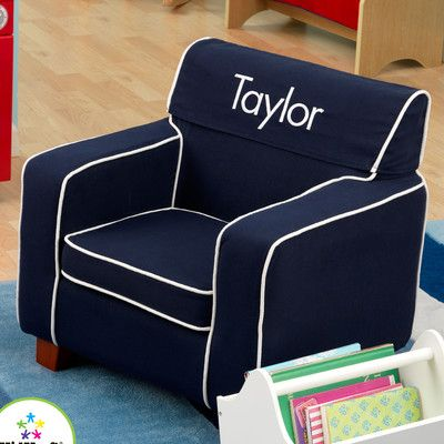 Kidkraft Personalized Laguna Chair With Slip Cover Personalized Toddler Chair Kids Chairs Personalized Kids Chair