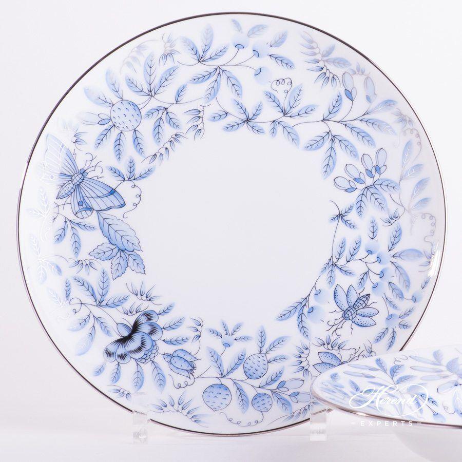 Dinner Plate Jardin Zoologique Blue 도자기