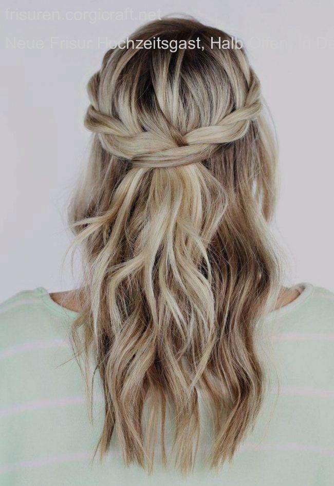 Neue Frisur Hochzeitsgast Halb Offen In Der Elegantesten Frisuren Corgic Der El Hair Styles Homecoming Hairstyles Long Hair Styles