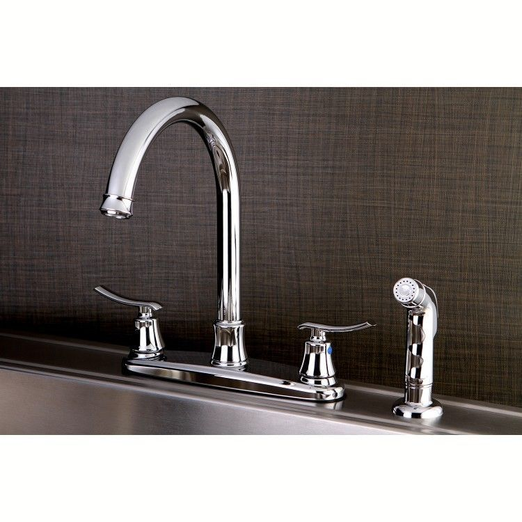 Stainless Steel Kitchen Faucet Euro Chrome Kitchen Faucet With