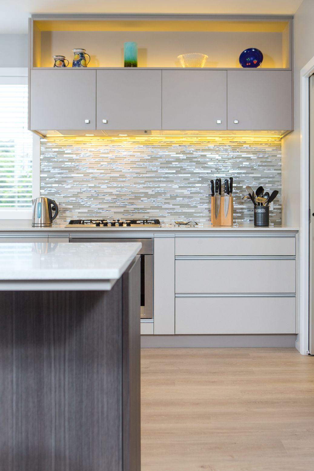 Kitchen 559 by Sally Steer Design, Wellington New Zealand. Aluminium ...