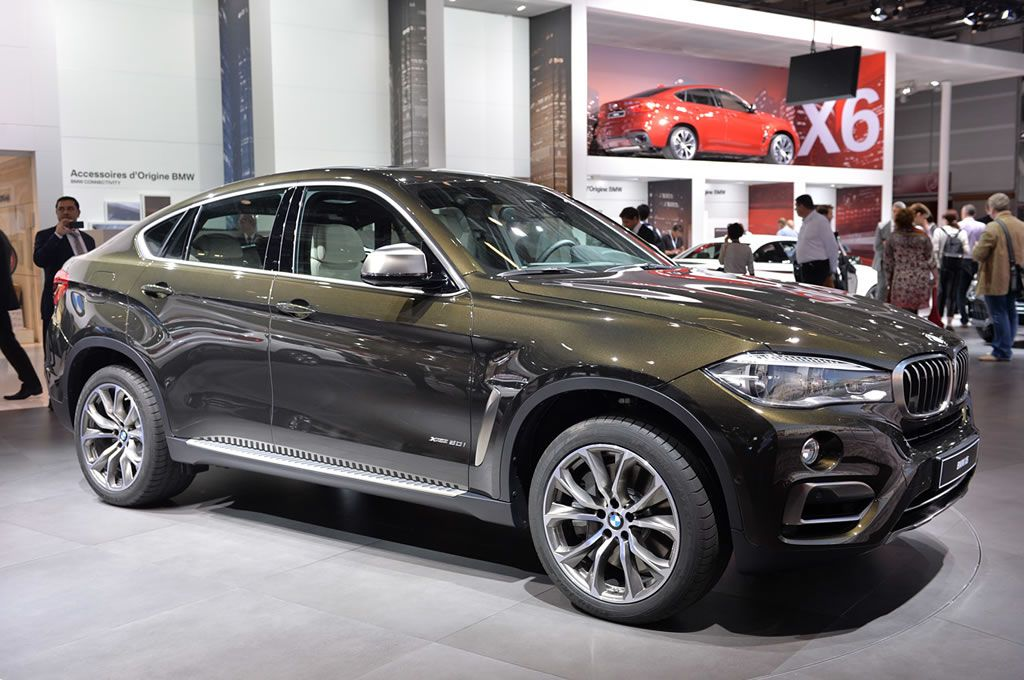 At the 2014 Paris Motor Show the all new BMW X6 made its world