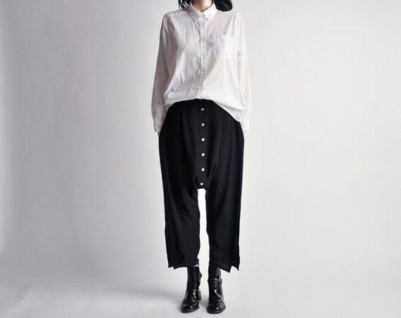 Vintage reconstructed harem pants.