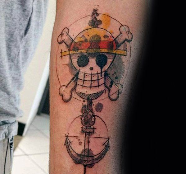 70 one piece tattoo designs for men japanese anime ink ideas tattoo inspo all of it. Black Bedroom Furniture Sets. Home Design Ideas