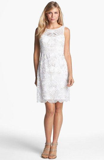 12 Budget Friendly Alternative Wedding Dresses Sue Wong Open Back Embroidered Lace Dress From Nordstrom