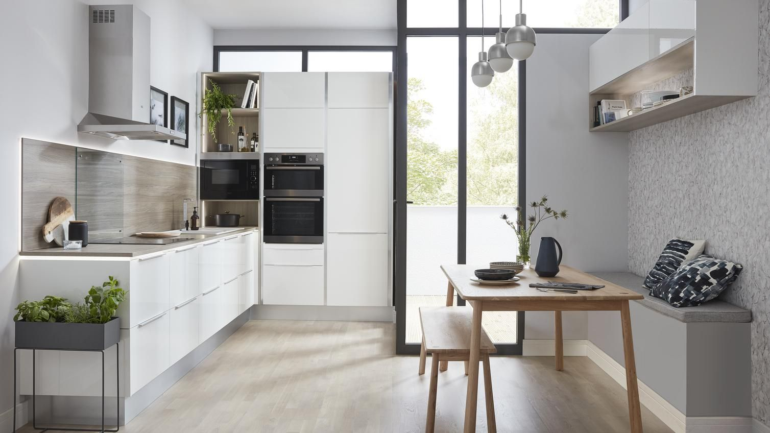 For A Kitchen That Can Work In Any Space Choose One Of Our Universal Kitchens These Simple Cabinet Door Kitchen Fittings Shaker Style Kitchens Shaker Kitchen