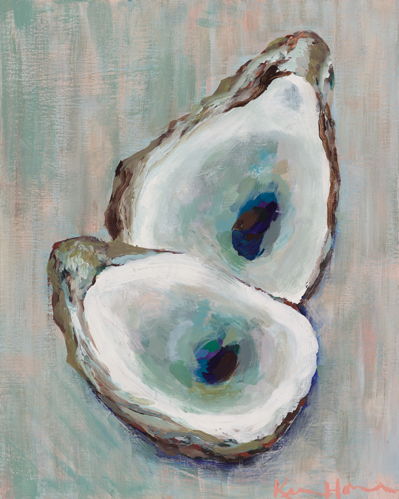 """Double Oyster"" by Kim Hovell 