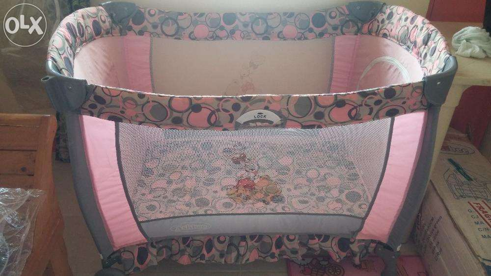 Ashbee Travel Crib (Pink) For Sale Philippines   Find 2nd Hand (Used)