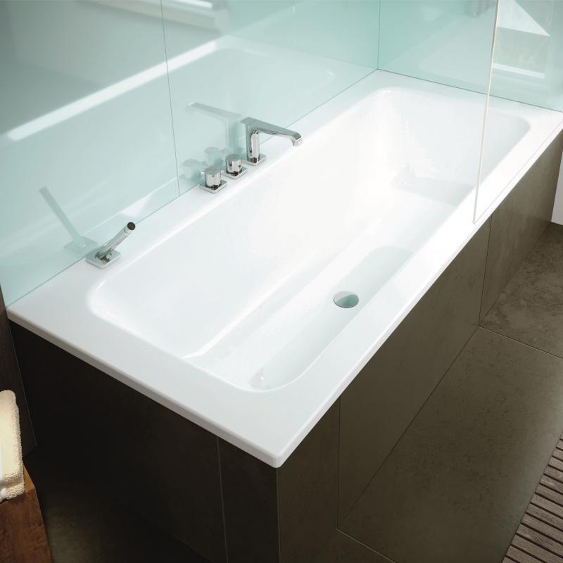 Kaldewei Puro Puro Set Wide vereint das Baden und Duschen