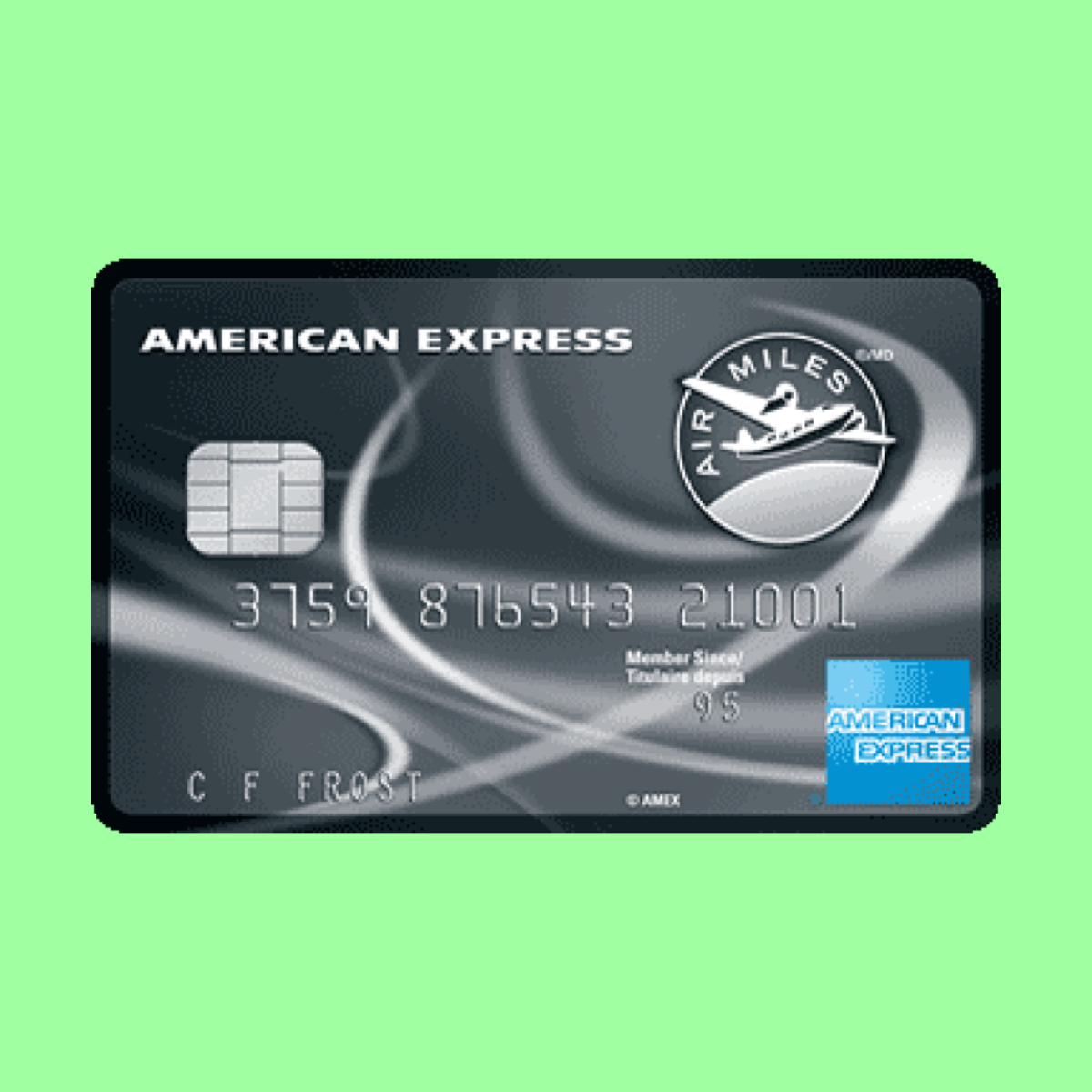 AMEX AIR MILES Reserve Credit Card Cash Value Calculator