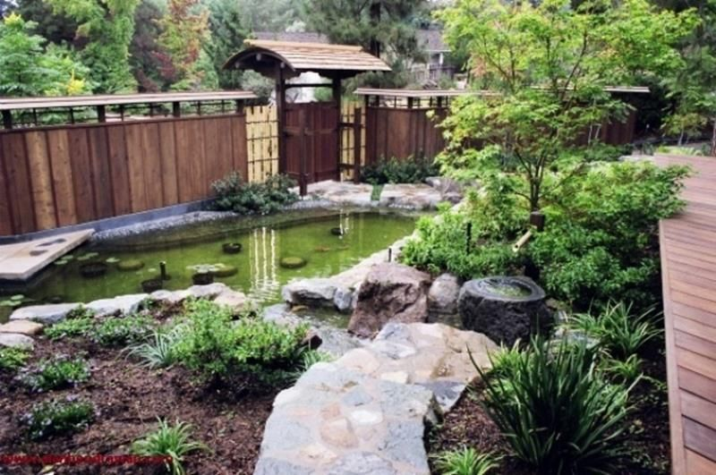 47 Neat Clean Japanese Front Yard Landscaping Ideas - Daily Home List | Japanese Garden Backyard, Japanese Garden, Japanese Garden Design