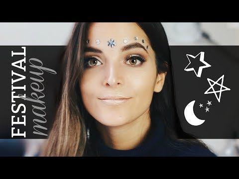 Maquillaje para Festival rápido y fácil | Fashaddicti  – Maquillaje
